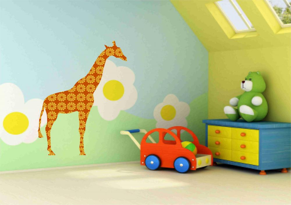 Tall Giraffe- Wall Decals
