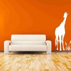 Tall Giraffe Vinyl Decals Nursery Decor